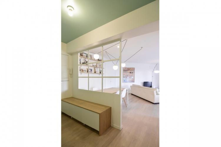 GALLIENI : architecte-renovation-entree-meuble-à-chaussures-AREA-Studio