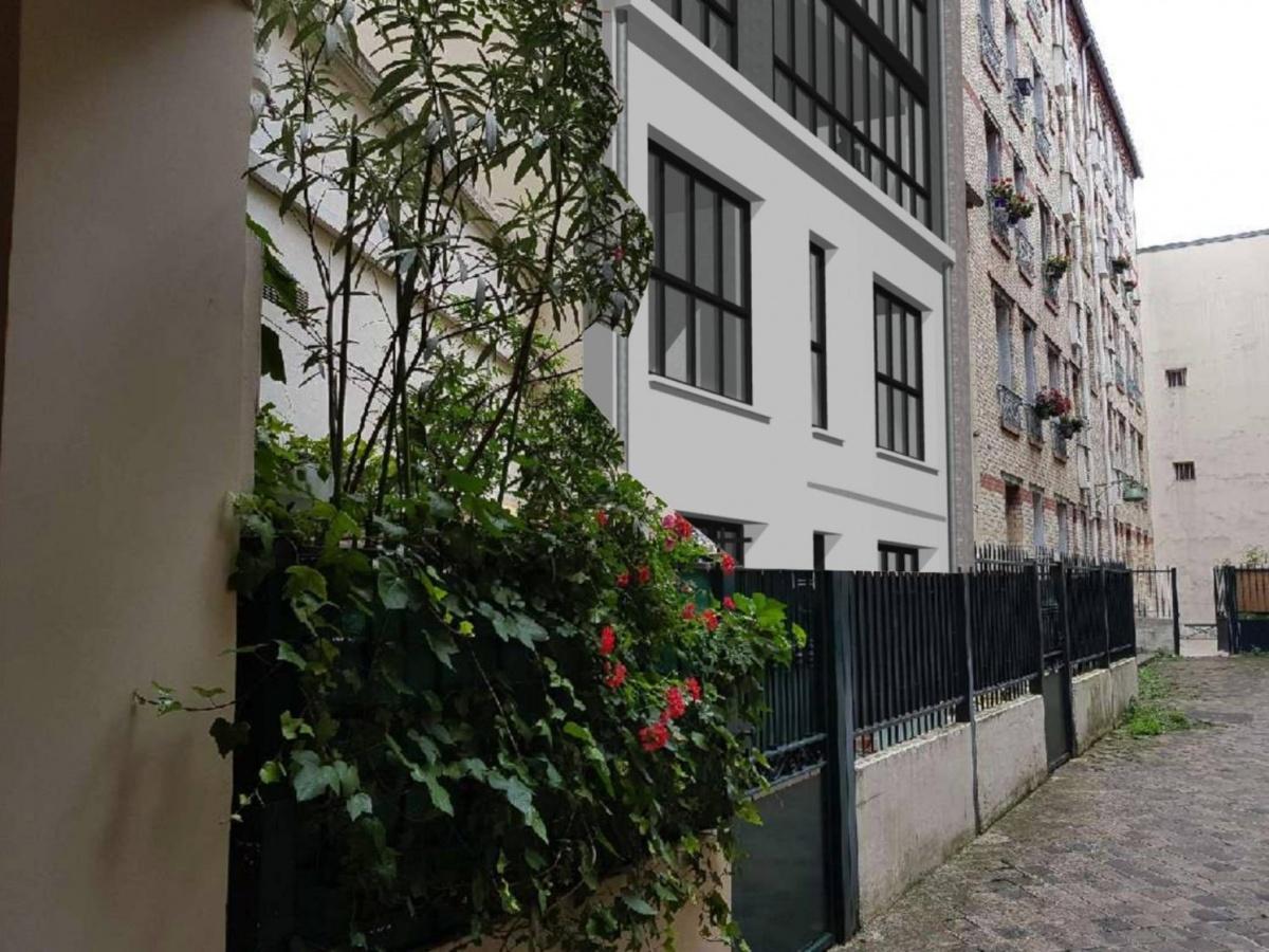 Extension et surélévation à Paris 15e : Capture d'écran 2018-11-04 à 19