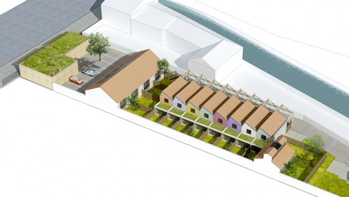 Logements sociaux  Montargis + villas de standing : Vue_aerienne_Nord_01.jpg