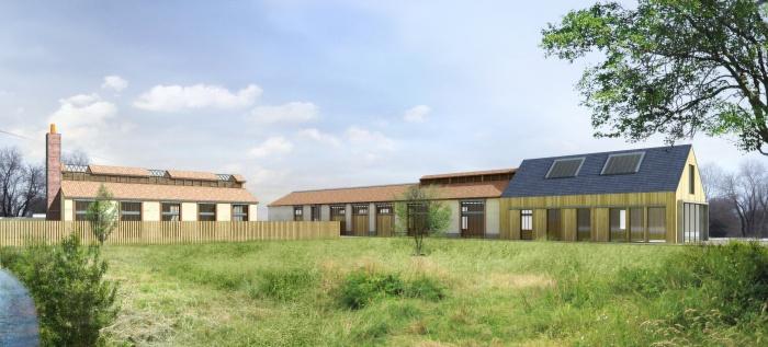 Logements sociaux  Montargis + villas de standing : Vue_Piéton_Sud_1.jpg