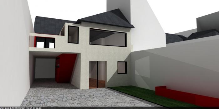 Rénovation d'une maison : Proposition 2