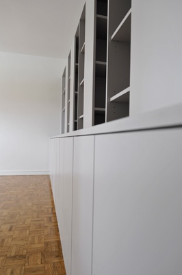 Chambre d'enfants + Bibliothèque + Cuisine : cielarchi-76B-L-salon3