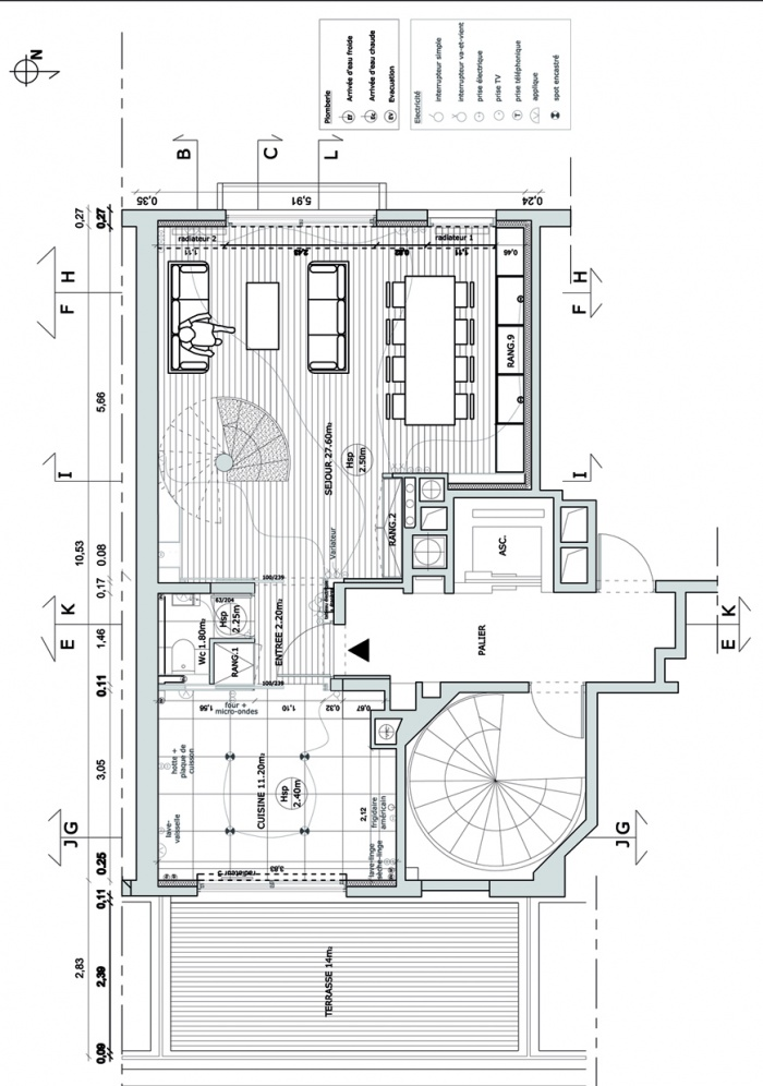 duplex : 1 PLANS COUPES ELEVATIONS-2