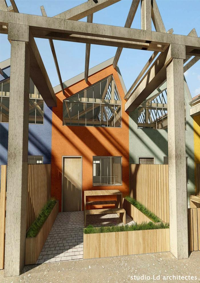 Logements locatifs montargis for Architecte montargis