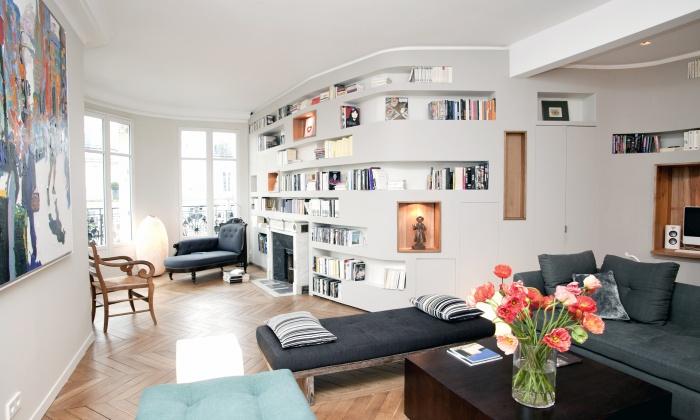 Appartement T : salon