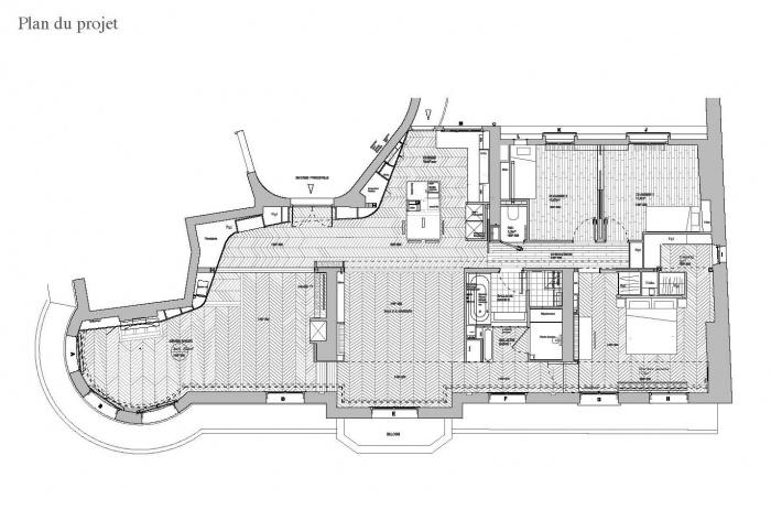 Appartement T : Plan du projet