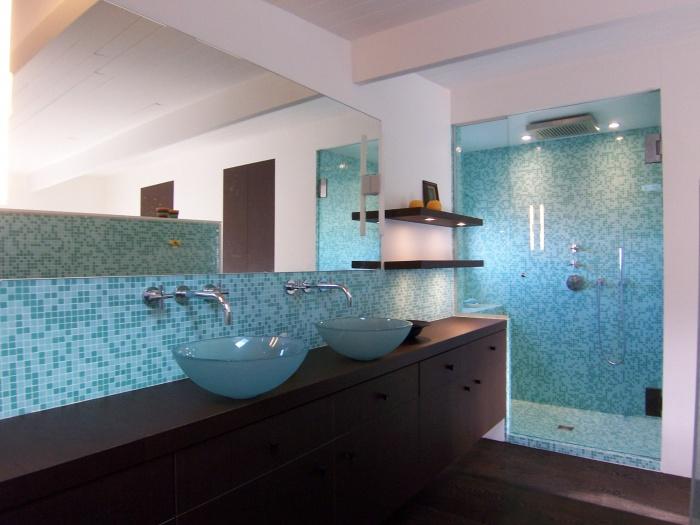De la modernité naît l'espace : salle d'eau