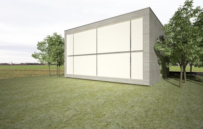cube bioclimatique : V2ST