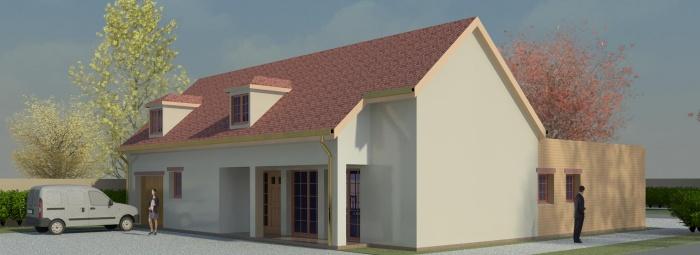 Projet D'une Maison individuelle à Orleans