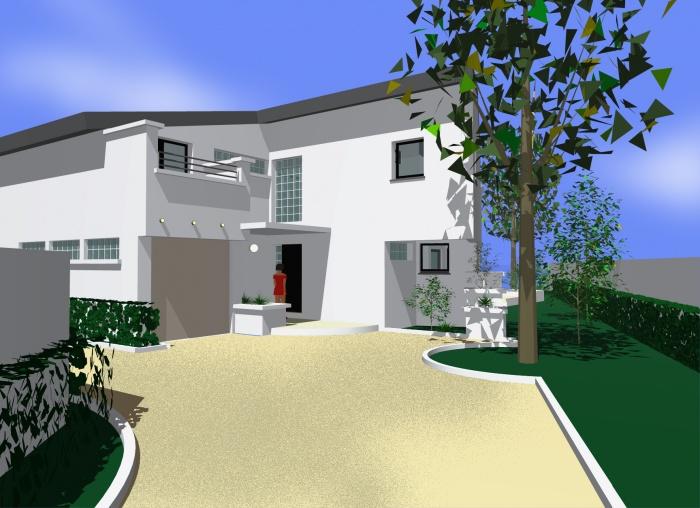 Maison de Mr et Mme Guagliardo : Vue entrée