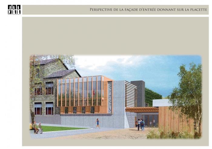 Extension et restructuration de l'ecole primaire et maternelle Gournay