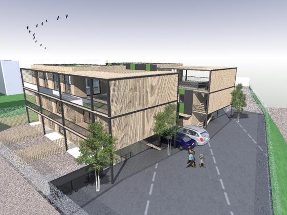 IMMEUBLE ECOLOGIQUE : immeuble-bois-Arcueil