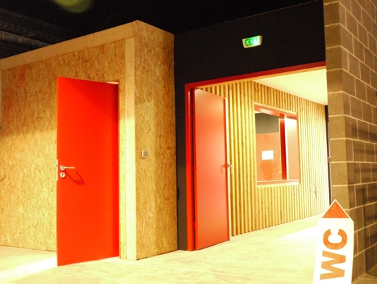 Extension de Salle Culturelle : chalette-vestiaire