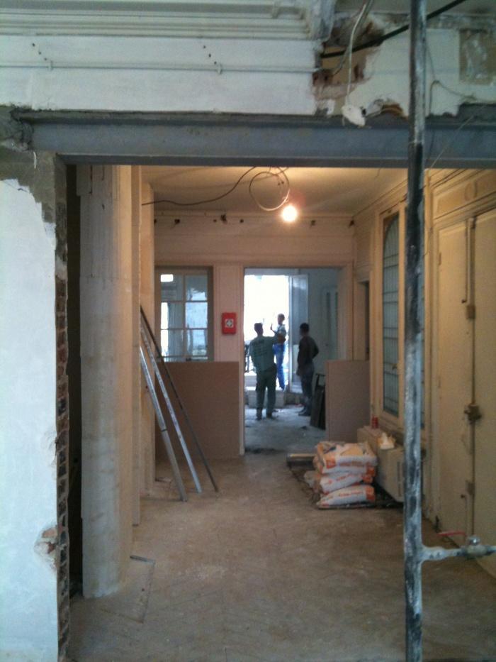 Appartement G : chantier
