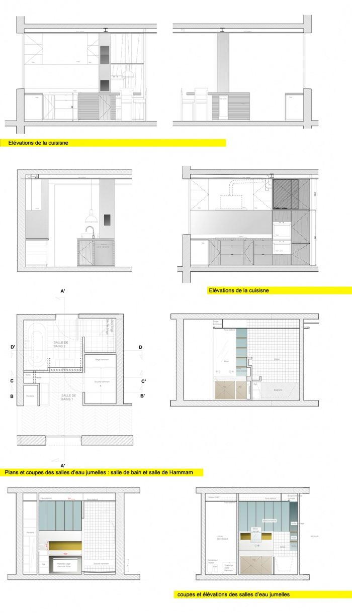Appartement T : étude