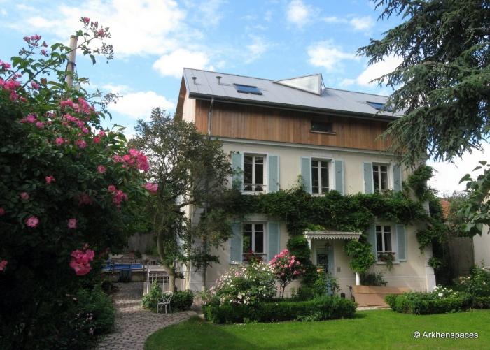 Extension et tranformation d'une maison individuelle
