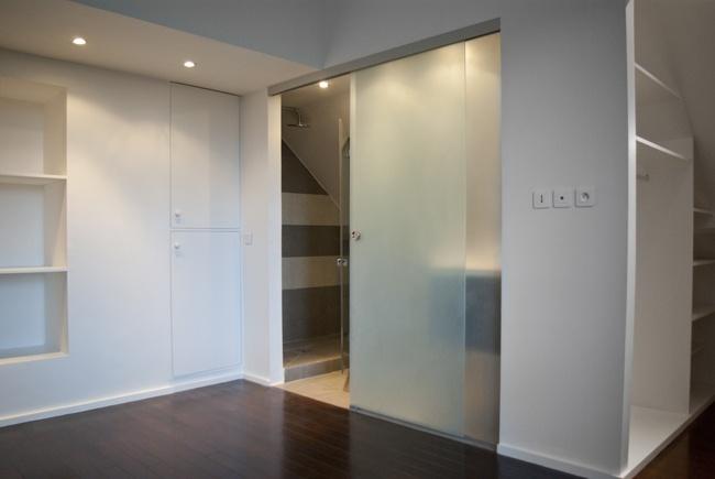 Réhabilitation d'appartement - Ruban Rouge : chambre3a