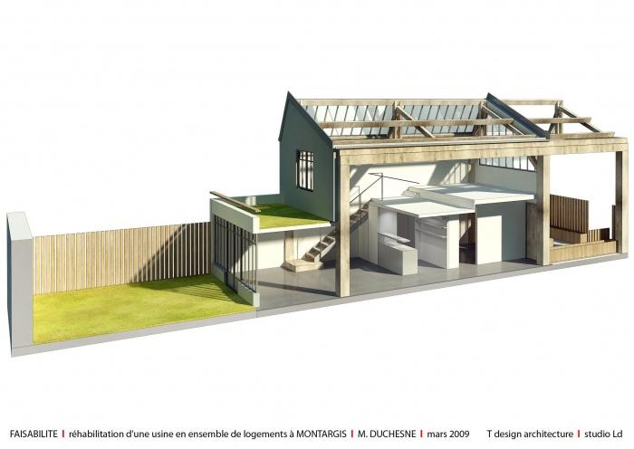 Logements locatifs montargis - Renovation hangar en habitation ...