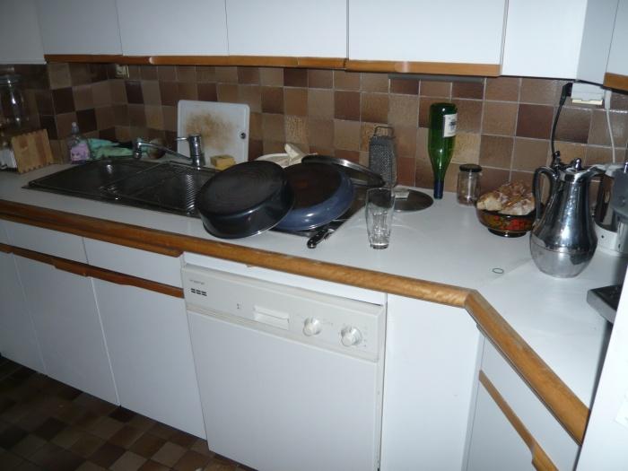 Cuisine et salle de bain, rue de la Fidélité : Avant travaux