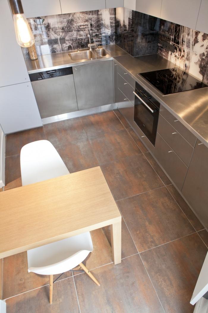 Cuisine et salle de bain, rue de la Fidélité : cuisine 1