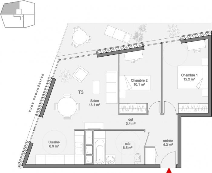 51 logements à Verneuil-sur-Seine : R-ICF-CNC-PLANS-09 carnet apparts 50e-appart T3_50e-2