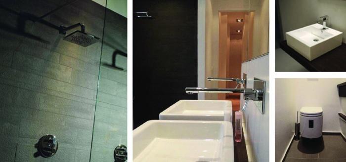 Maison contemporaine : Salle de bain