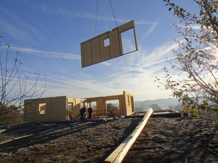 Maison bois en cours de construction : DSC00231.JPG