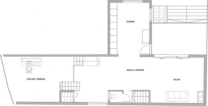 Extension n° 3 : COL-PUB-Plan et coupe-A3 DET