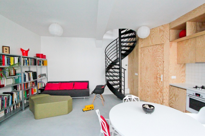 The wall - Aménagement intérieur : OVERCODE montreuil the wall 3 L