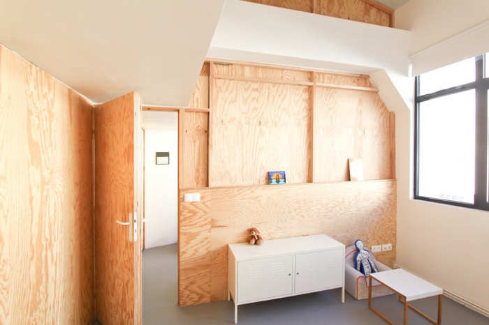The wall - Aménagement intérieur : OVERCODE montreuil the wall 14L