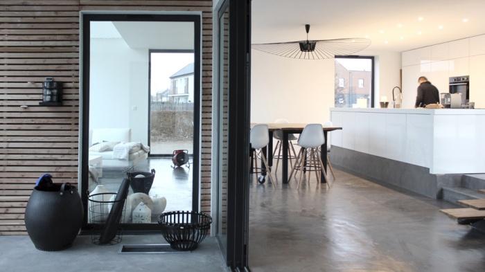 Maison ossature bois : pyz architecture maison chessy