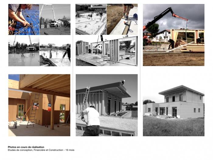 Etudes et Construction d'une maison individuelle