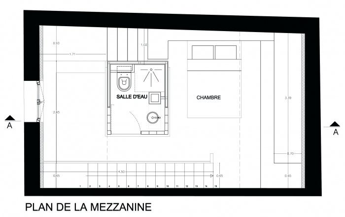 Tower House : mezzanine