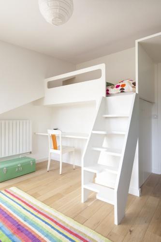 Surélévation des combles d'un appartement : LR-0089