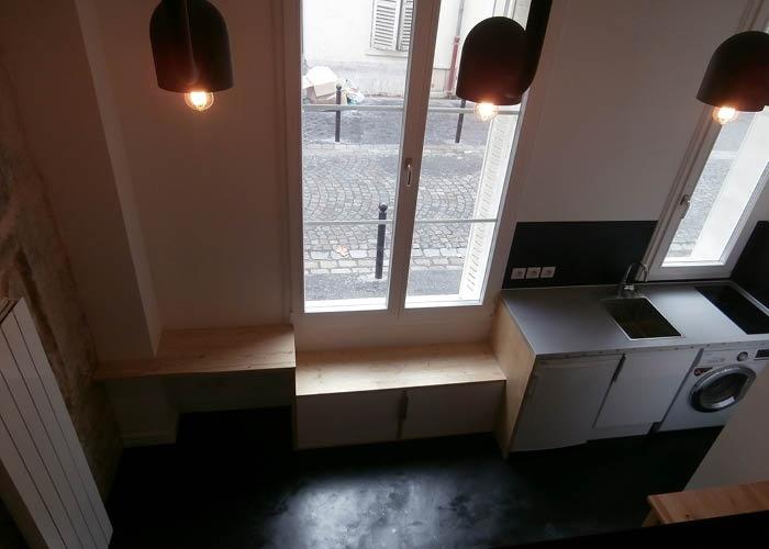 studio 18m²_Paris 18ème : WEB_BUD_72dpi_vue dans lit
