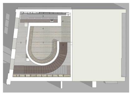 Club 18-35 : plan etage