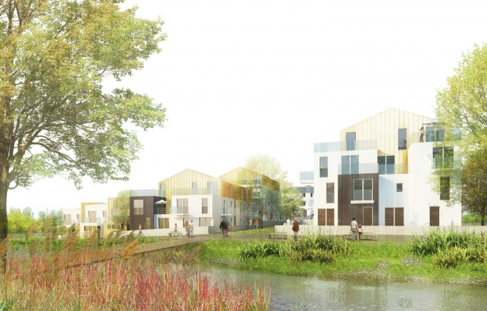 Au fil de l'eau - 62 logements au bord de l'Huisne (28)