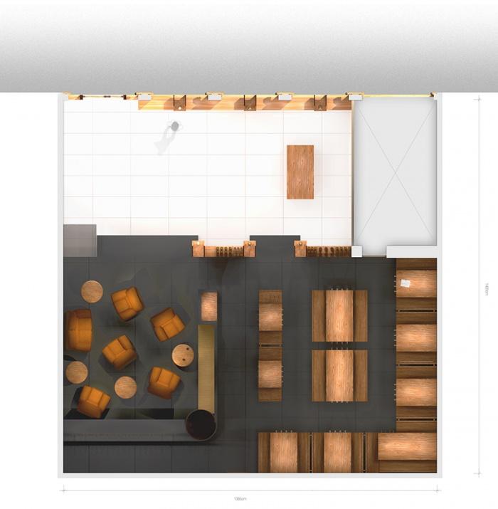 Boutique de Whisky : Plan coloré