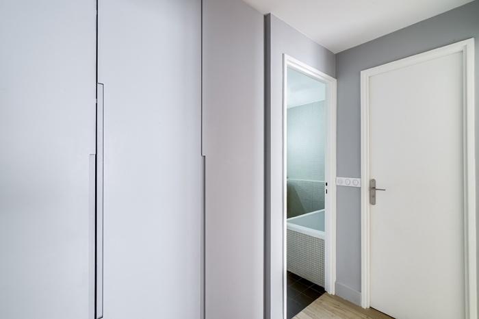 APPARTEMENT L : couloir dressing