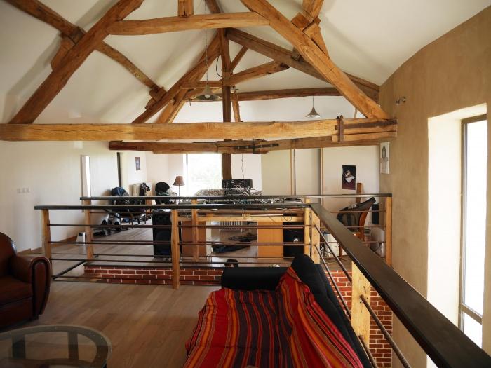 Transformation d'une grange en loft : Etage