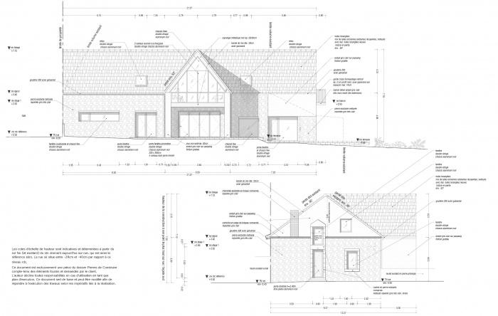 Transformation d'une Grange en Maison Individuelle : BOUESSE11-16 jpg5